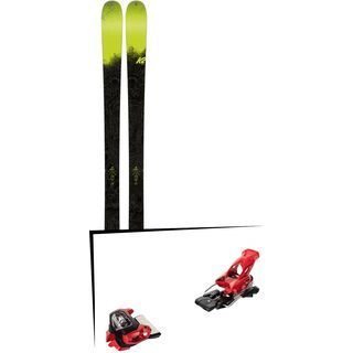 Set: K2 SKI Sight 2018 + Tyrolia Attack² 18 X GW red