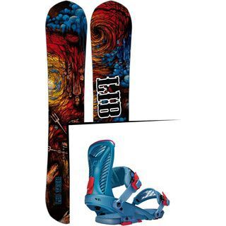 Set: Lib Tech From Hell Hot Knife 2017 + Ride Capo (1487143S)