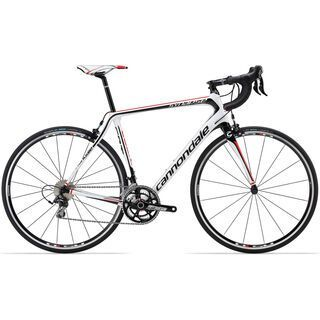 Cannondale Synapse Carbon 105 Triple 2014, weiß - Rennrad