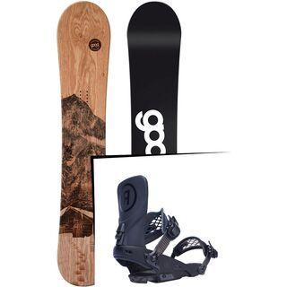 Set: goodboards Wooden 2017 + Ride LTD (1770150S)