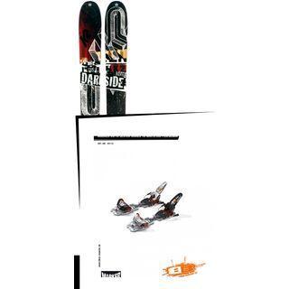 K2 SKI Set: Darkside 2013 + Marker Jester Schizo 16
