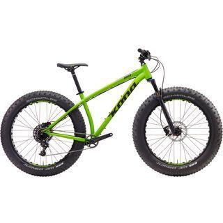 Kona WoZo 2017, green/black/purple - Mountainbike