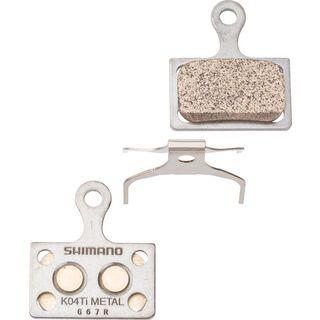 Shimano K04Ti Metall Scheibenbremsbelag