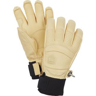 Hestra Leather Fall Line 5 Finger, natural brown - Skihandschuhe