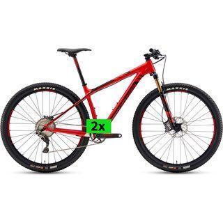 Rocky Mountain Vertex 990 RSL 2x11 2018, red - Mountainbike