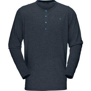 Norrona Falketind Long Sleeve Shirt, cool black - Longsleeve