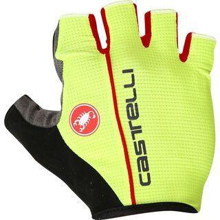 Castelli Circuito Glove, yellow fluo/red - Fahrradhandschuhe