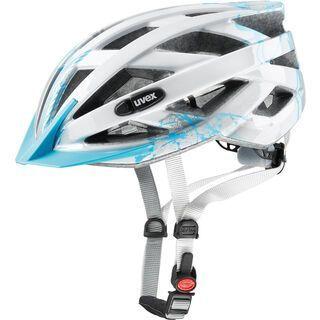 uvex air wing, lightblue-silver - Fahrradhelm