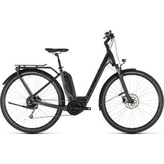 Cube Touring Hybrid 400 Easy Entry 2019, iridium´n´black - E-Bike