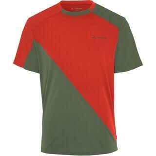 Vaude Men's Moab Shirt, lava - Radtrikot