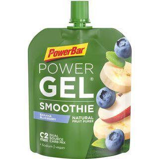 PowerBar Powergel Smoothie - Banana Blueberry - Energie Gel