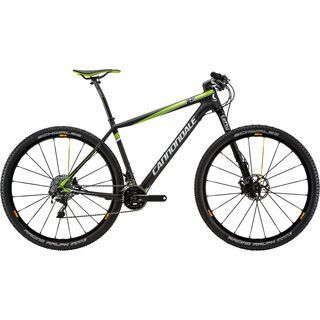 Cannondale F-Si Carbon 1 2015, matte black/green - Mountainbike