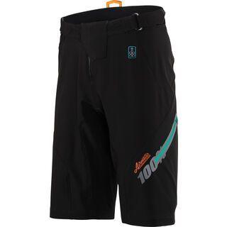 100% Airmatic Short, black - Radhose