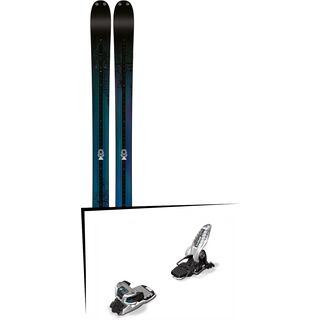 K2 SKI Set: Shreditor 92 2016 + Marker Griffon 13