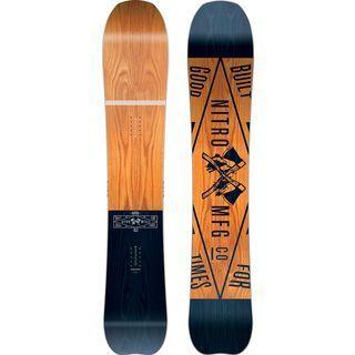 Nitro *** 2. Wahl *** Mountain | Größe 163 cm 2017 - Snowboard