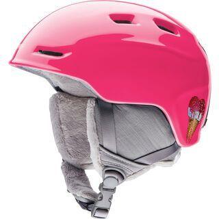 Smith Zoom Junior, pink sugar cone - Snowboardhelm
