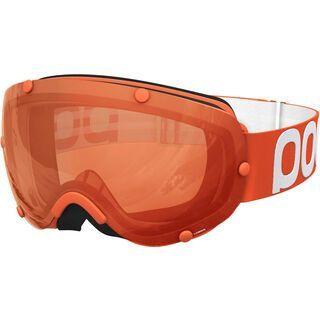 POC Lobes, zink orange/Lens: sonar orange - Skibrille