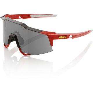 100% Speedcraft, red/Lens: smoke - Sportbrille
