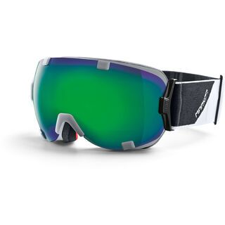 Marker Projector, white/Lens: green plasma mirror - Skibrille