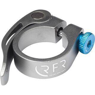 Cube RFR Sattelklemme mit Schnellspanner, grey´n´blue