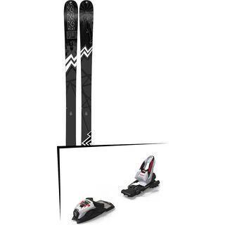 Set: K2 SKI Press 2019 + Marker Race Junior 8 white/black/red