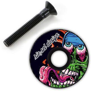 Riesel Design stemcap, monster - Headsetkappe