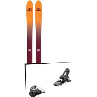 Set: DPS Skis Wailer F99 Foundation 2018 + Tyrolia Attack 11 solid black