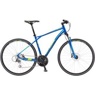 GT Transeo 3.0 2017, blue/lime - Fitnessbike