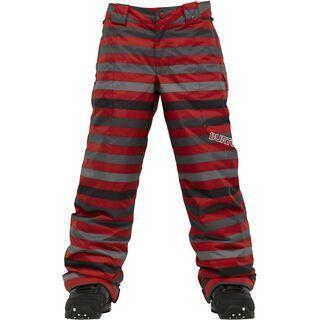 Burton Boys Cyclops Pant, Cardinal Fade Stripe - Snowboardhose