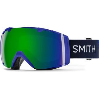 Smith I/O inkl. WS, klein blue/Lens: cp sun green mirror - Skibrille