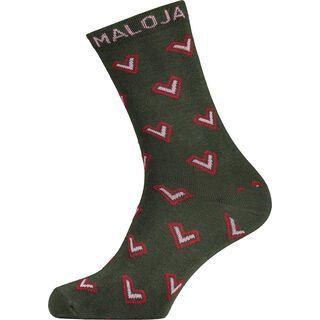 Maloja JudithaM., dark cypress - Socken
