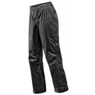 Vaude Women's Fluid Full-Zip Pants S/S, black - Radhose