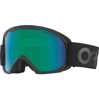 Oakley O2 XL, blackout/Lens: jade iridium - Skibrille