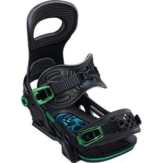Bent Metal Transfer 2020, black - Snowboardbindung