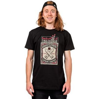 Horsefeathers Matchbox T-Shirt, black