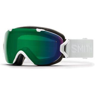 Smith I/OS inkl. WS, white vapor/Lens: cp everyday green mir - Skibrille