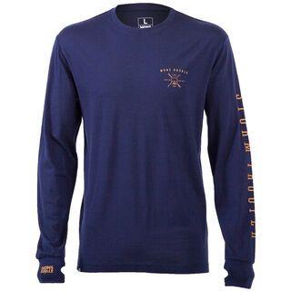 Mons Royale Original LS, navy - Funktionsshirt