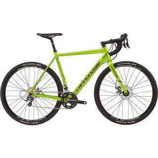 Cannondale *** 2. Wahl *** CAADX Tiagra | Größe 56 cm 2017, green - Crossrad