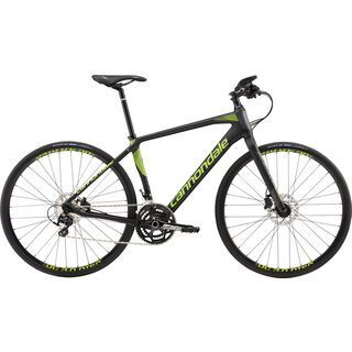 Cannondale Quick Carbon 1 2017, black/green - Fitnessbike