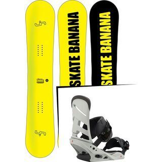 Set: Lib Tech Sk8 Banana 10 years 2017 + Burton Mission (1712876S)