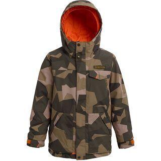 Burton Boys' Dugout Jacket, three crowns camo - Snowboardjacke