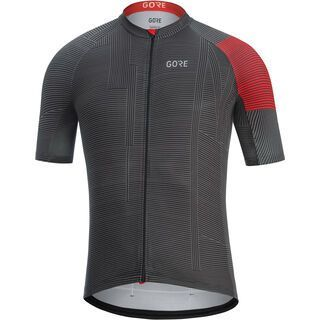 Gore Wear C3 Line Trikot, black/red - Radtrikot