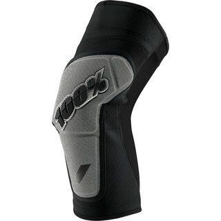 100% Ridecamp Knee Pad, black/grey - Knieschützer