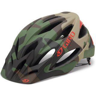 Giro Xar, matte green camo - Fahrradhelm