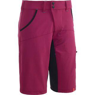 Cube Motion WLS Shorts inkl. Innenhose, cranberry - Radhose