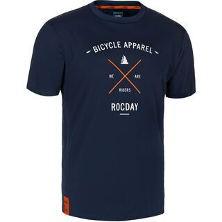 Rocday Element Jersey, dark blue - Radtrikot