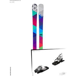 Völkl Set: Pyra Junior 2014 + Marker 10.0 FREE