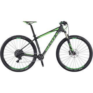 Scott Scale 720 2016, anthracite/black/green - Mountainbike