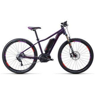Cube Access WLS Hybrid SL 27.5 2015, aubergine/berry - E-Bike