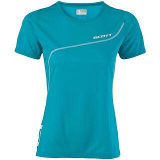 Scott Womens TR 30 s/sl Shirt, ocean blue - Funktionsshirt